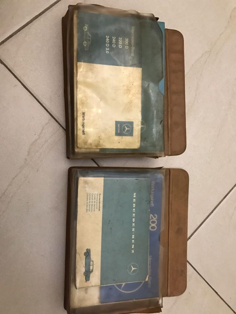 (VENDO) Manuais Originais Antigos Mercedes - 230/250/280 entre 1967 e 1975. 4223326286
